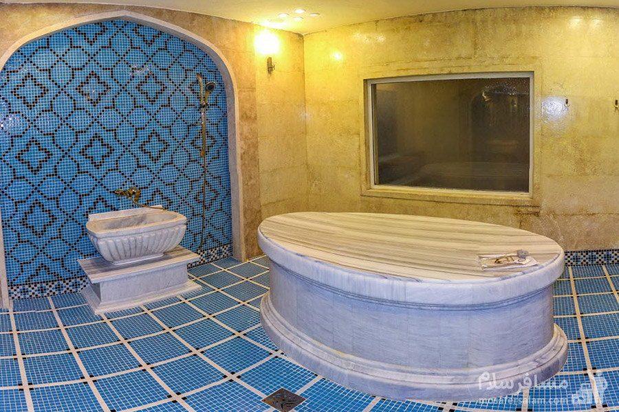 حمام هتل مدینه الرضا