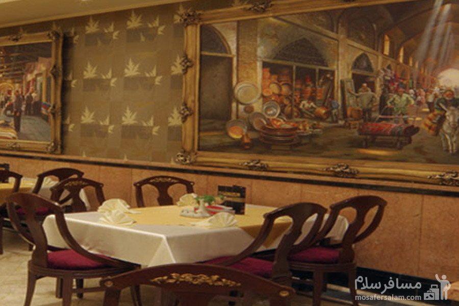 نمایی از رستوران