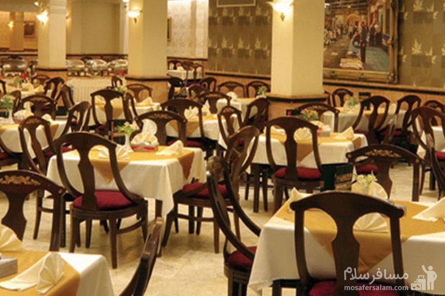 رستوران هتل مشهد در مشهد