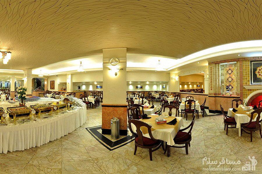رستوران در هتل مشهد