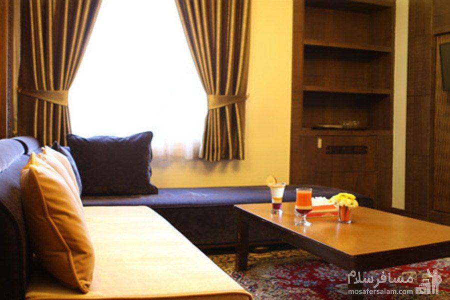 هتل مشهد-اتاق ها