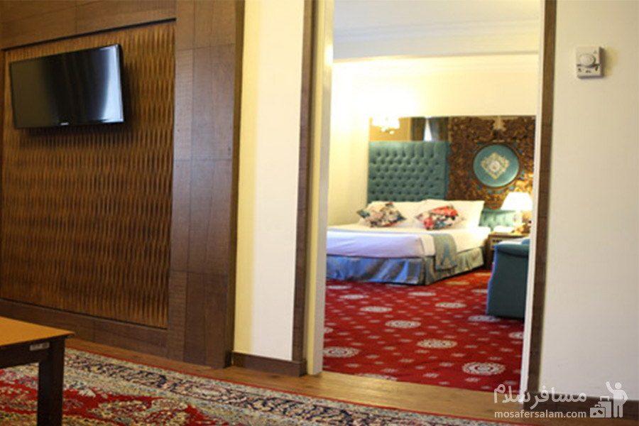 هتل مشهد-نمایی از اتاق ها