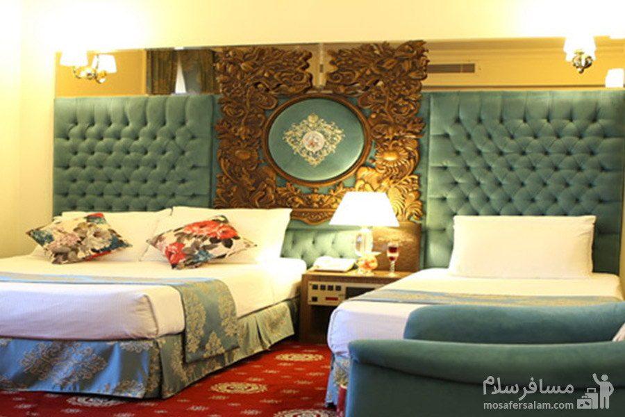 اتاق زیبا هتل مشهد