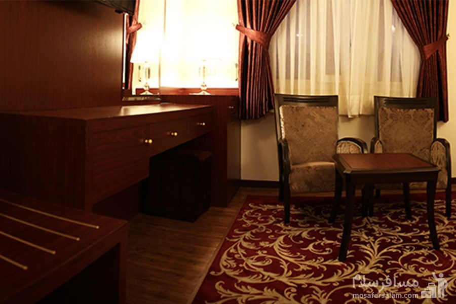 اتاق هتل مشهد
