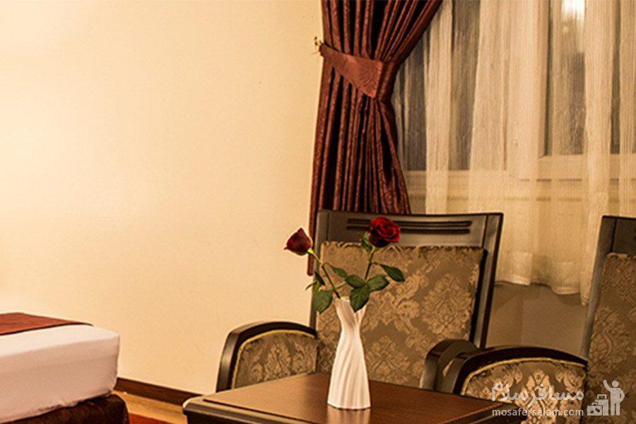 اتاق خواب هتل مشهد مشهد