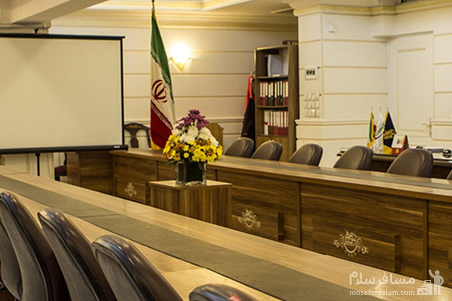 نمایی از سالن کنفرانس هتل مشهد