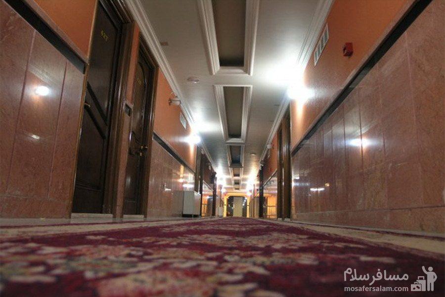 راهرو هتل نور مشهد