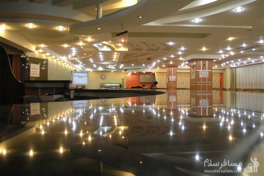 پذیرش هتل نور مشهد
