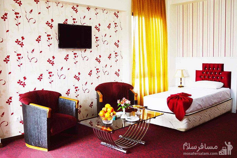 سوئیت یک نفره هتل رضویه مشهد