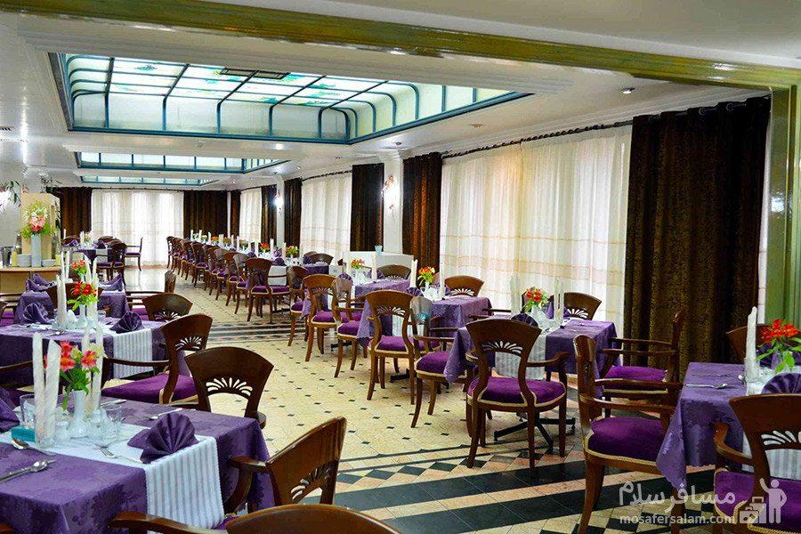سالن پذیرایی هتل رضویه مشهد