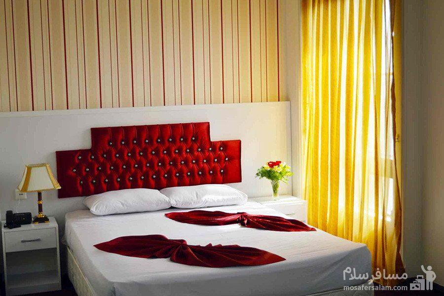 سوئیت دابل دو نفره هتل رضویه مشهد
