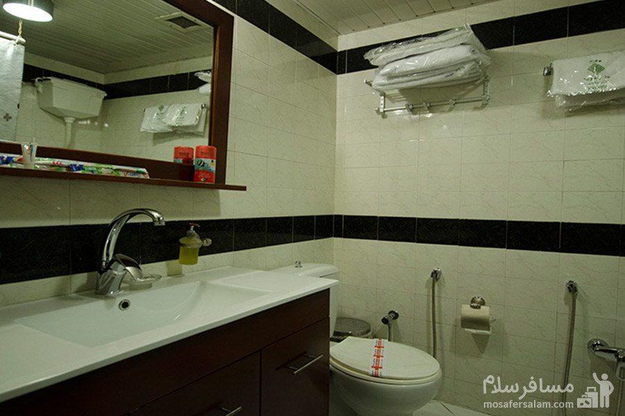 سرویس بهداشتی سوئیت هتل رضویه مشهد