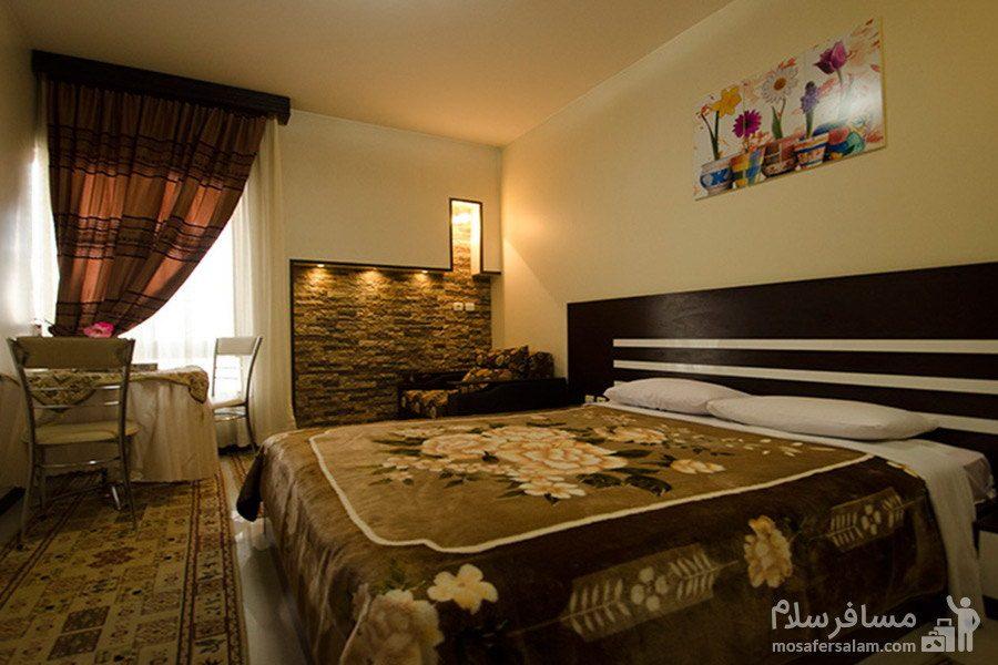 سوئیت دابل هتل رضویه مشهد