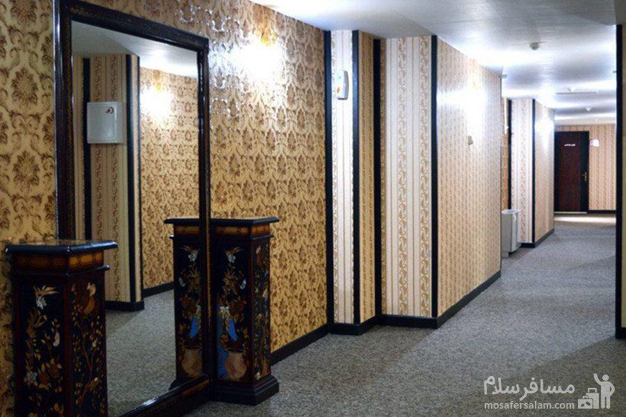 راهرو طبقات هتل رضویه مشهد
