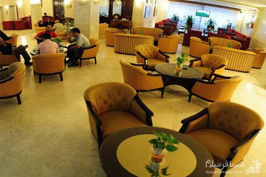 کافی شاپ هتل تهران مشهد
