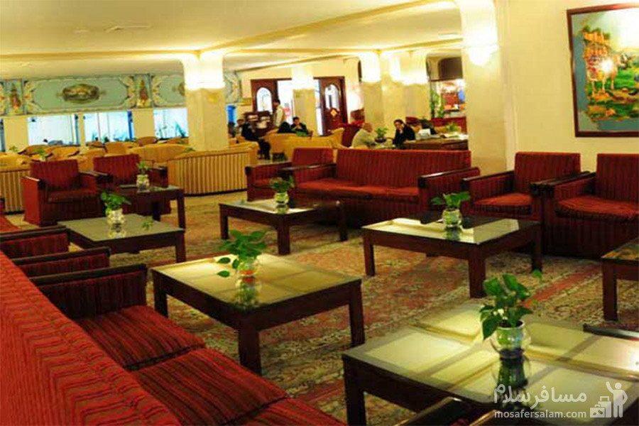 کافی شاپ سنتی هتل تهران مشهد