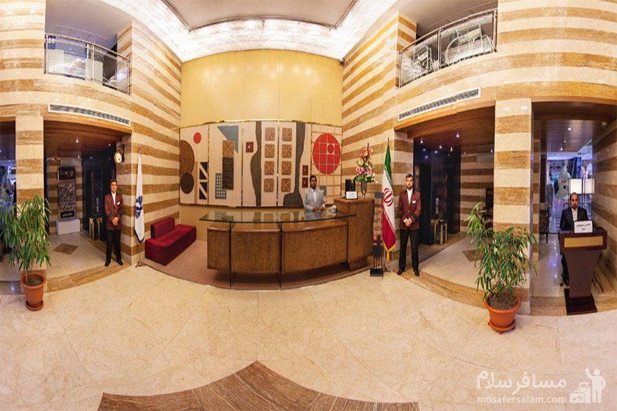 پذیرش هتل توس مشهد