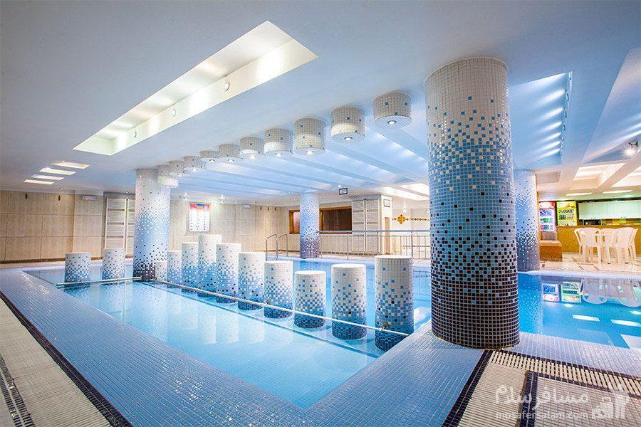 استخر کم عمق هتل توس مشهد