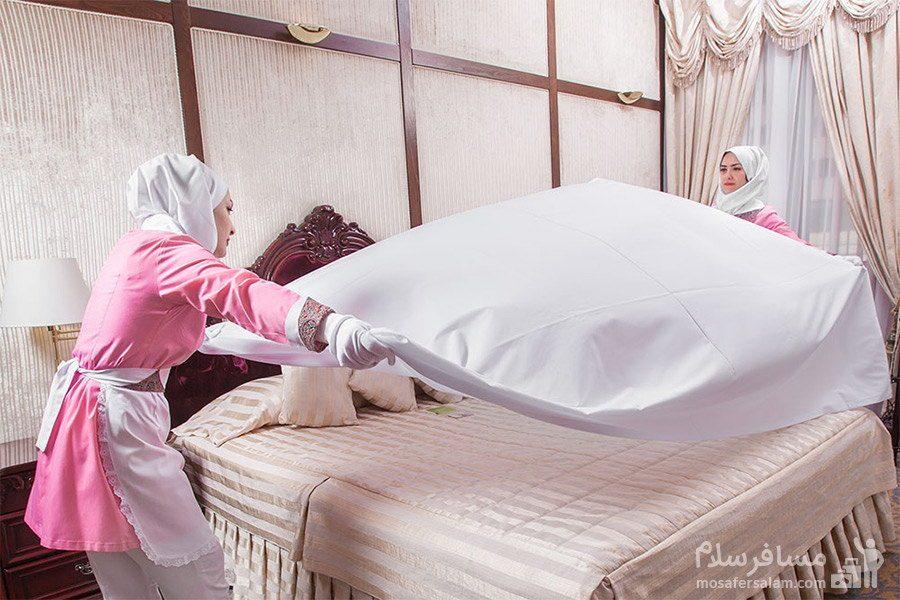 بخش خانه داری هتل توس مشهد