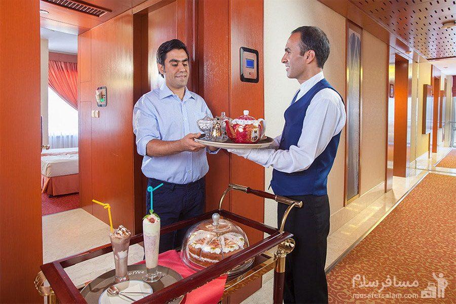 سفارش غذا هتل توس مشهد