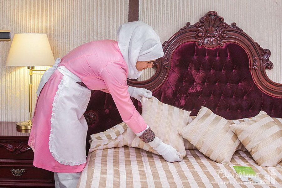 خدمات هتل توس مشهد