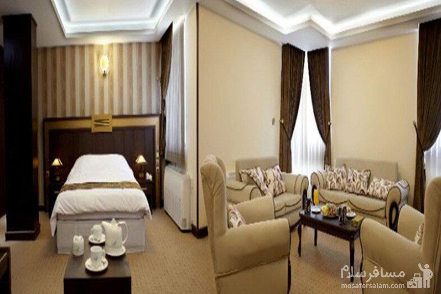 اتاق یکتخته هتل گسترش تبریز