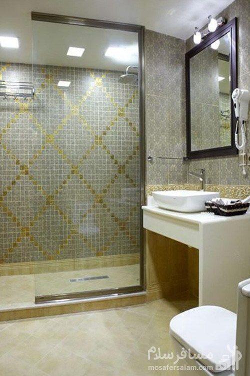 حمام اتاق هتل گسترش