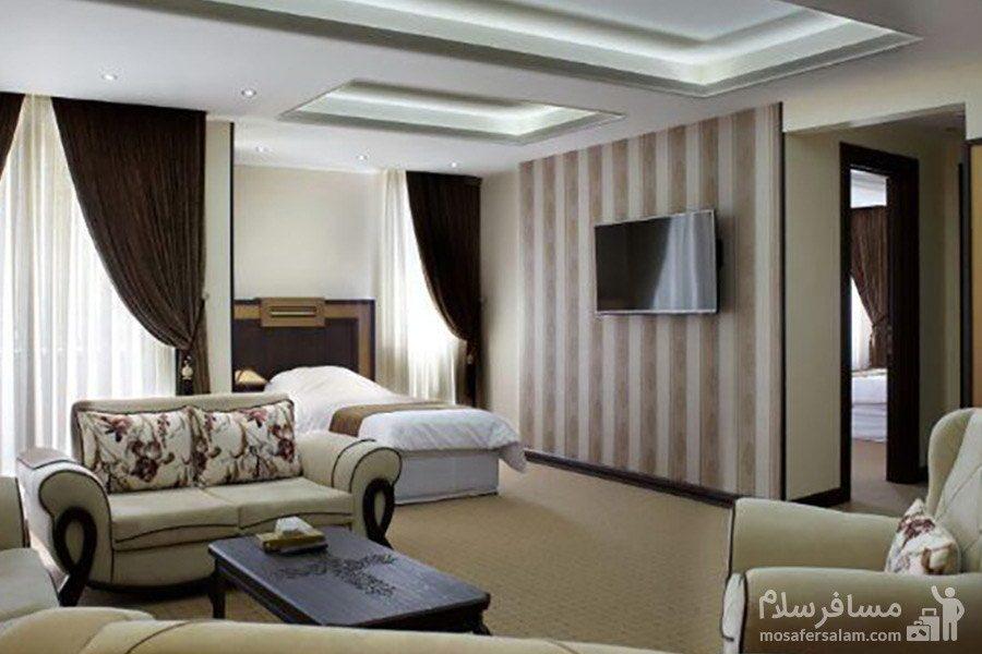 اتاق یکتخته هتل گسترش