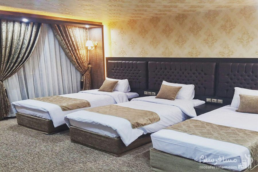 اتاق سهتخته هتل گسترش