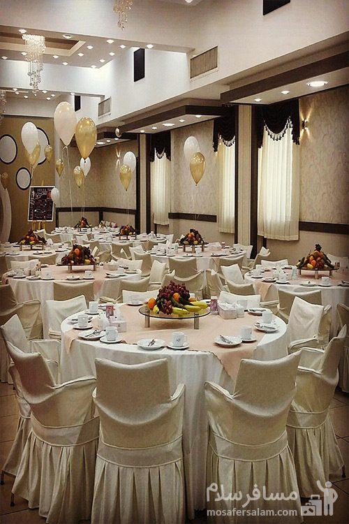 تالار عروسی هتل گسترش