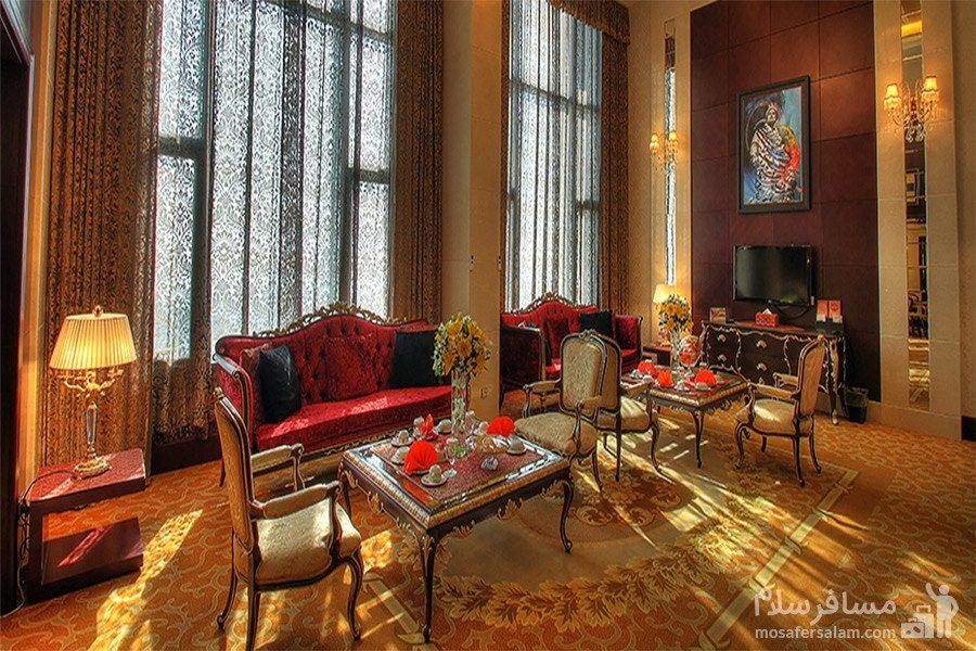سوئیت پرزیدنتال هتل پارسیان آزادی تهران