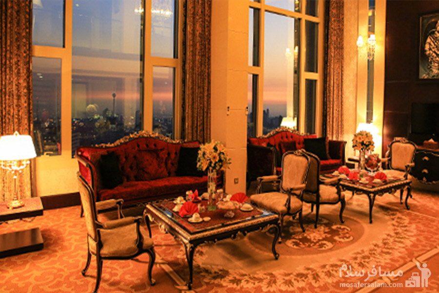 هتل پارسیان آزادی تهران سوئیت دوبلکس