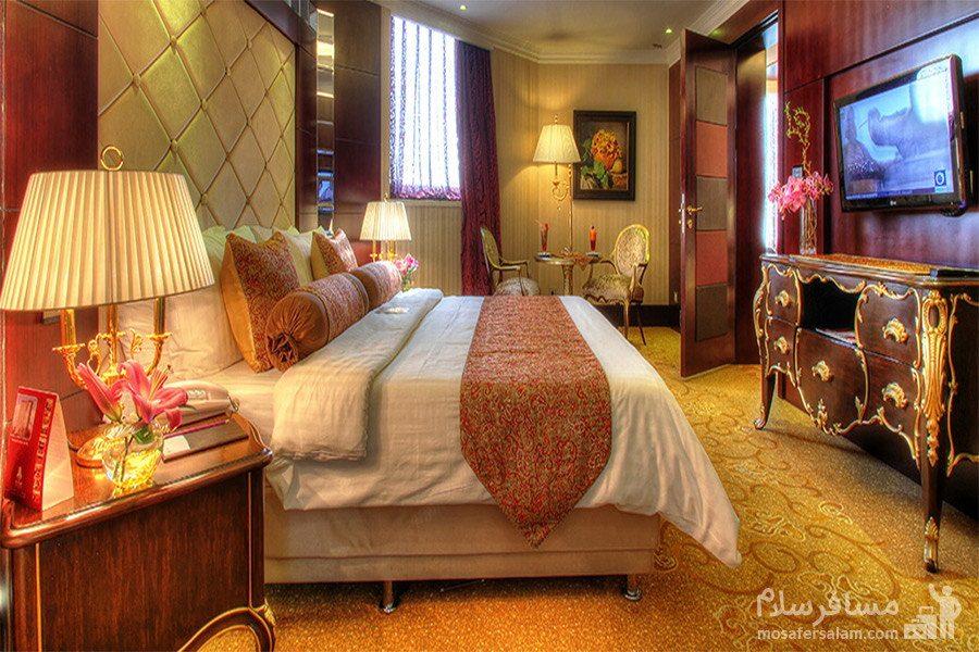 هتل پارسیان آزادی تهران اتاق رویال