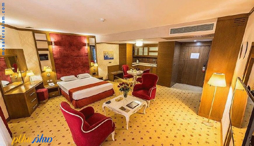 اتاق هتل آرمان مشهد