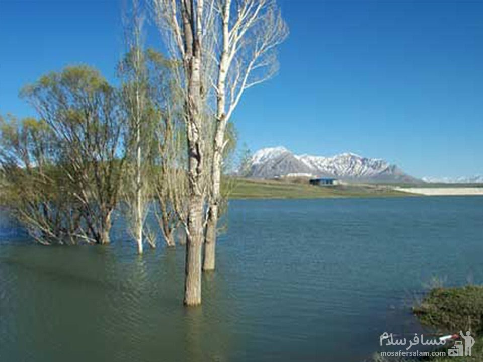 دریاچه سد خان آباد
