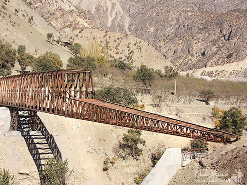 بزرگترین پل خرپایی