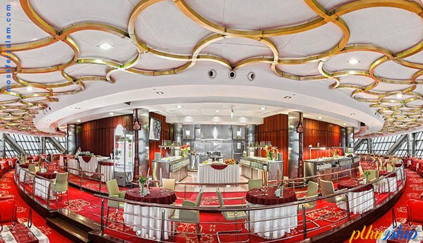 رستوران برج میلاد تهران