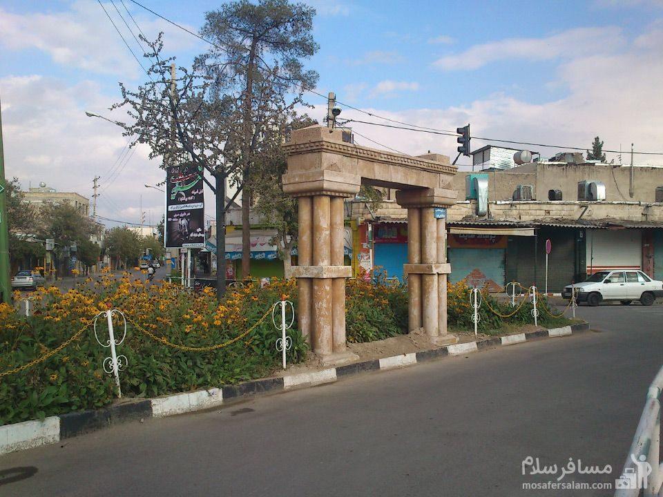 سردر شهرداری قدیمی