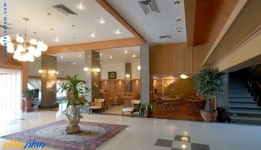 لابی هتل آفتاب شرق کیش