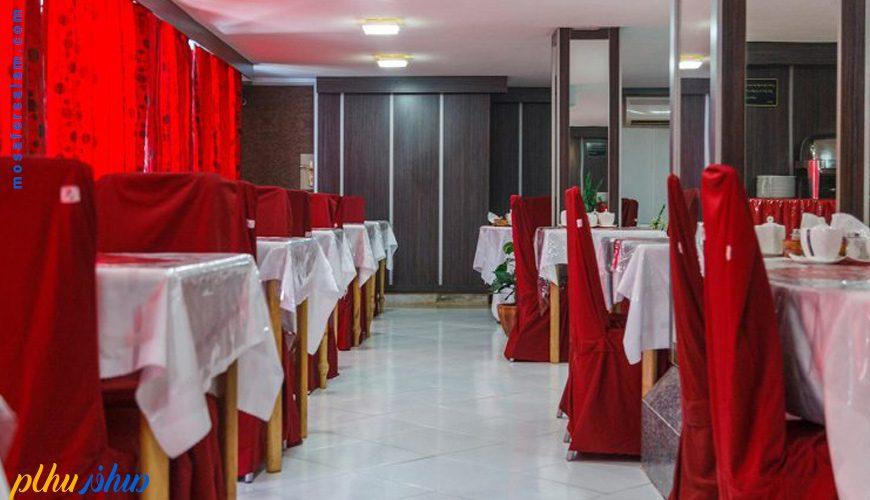 زستوران هتل آفتاب شرق کیش