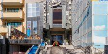 ورودی هتل آسمان اصفهان