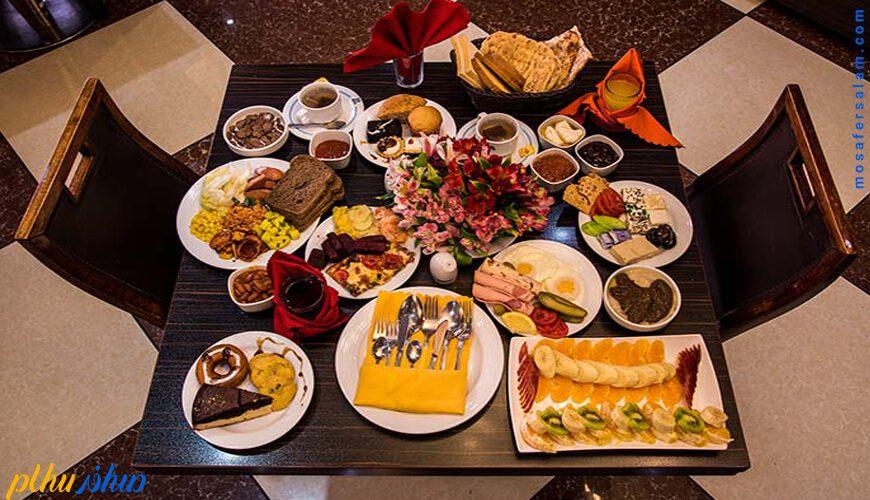 غذا هتل آسمان اصفهان