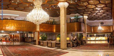 لابی هتل اترک مشهد
