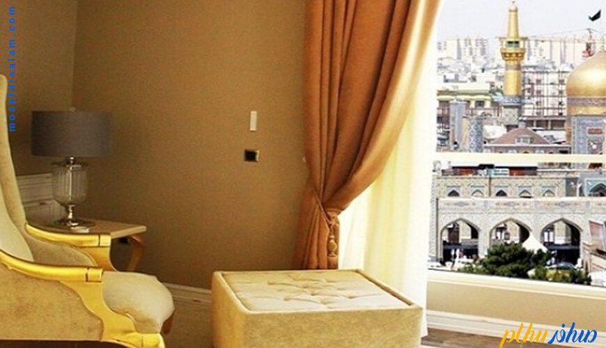 چشم انداز هتل اترک مشهد