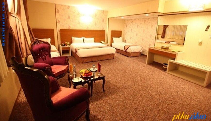 اتاق هتل آوین اصفهان