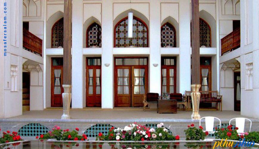فضای باز هتل بخردی اصفهان