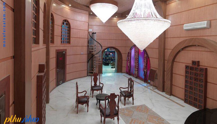فضای داخلی هتل بزرگ فردوسی تهران