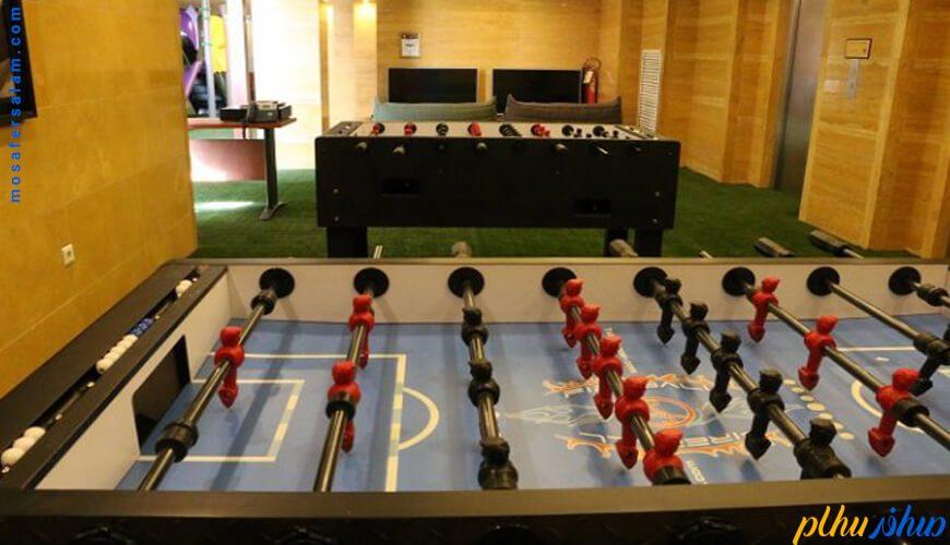 فوتبال دستی هتل بزرگ شیراز