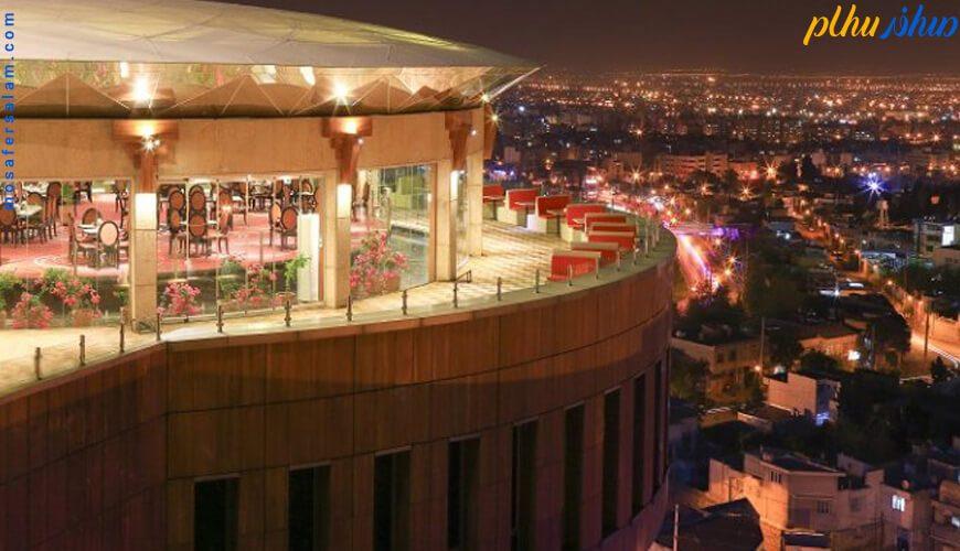 چشم انداز هتل بزرگ شیراز