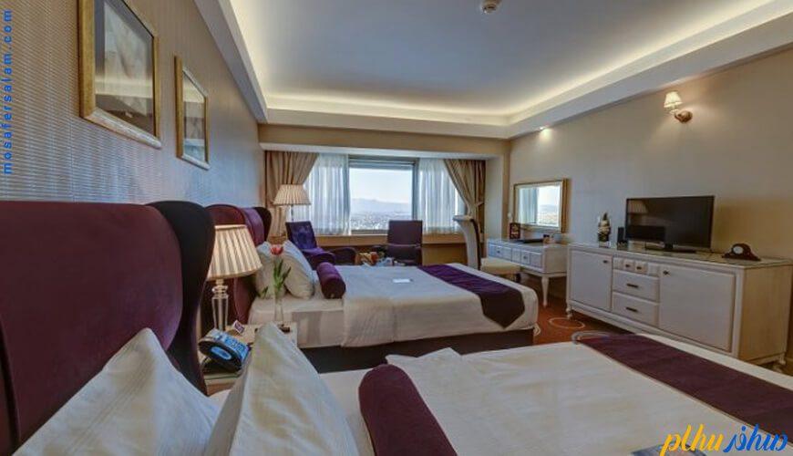 اتاق هتل بزرگ شیراز